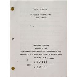 The Abyss Storyboard