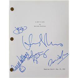 E.T. the Extra-Terrestrial Signed Script