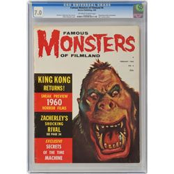 Famous Monsters of Filmland Group of (11) Magazines