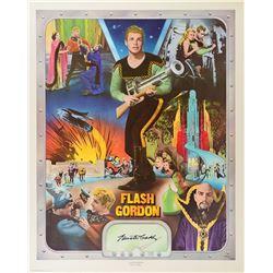 Flash Gordon Signed Print