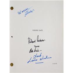 Forbidden Planet Signed Script