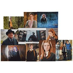 Harry Potter Group of (38) Signed Photographs