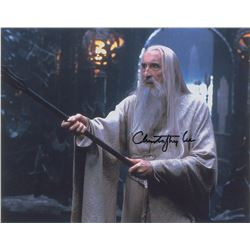 Christopher Lee Signed Photograph