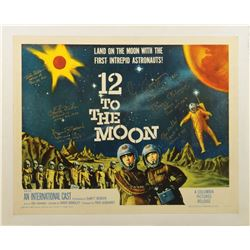 Moonwalkers Signed Sci-Fi Poster