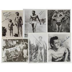 Tarzan Group of (6) Signed Photographs