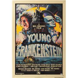 Young Frankenstein Cast Signed Poster