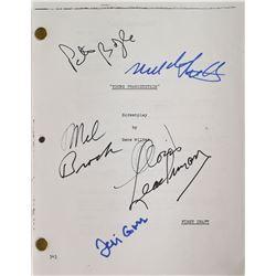 Young Frankenstein Signed Script