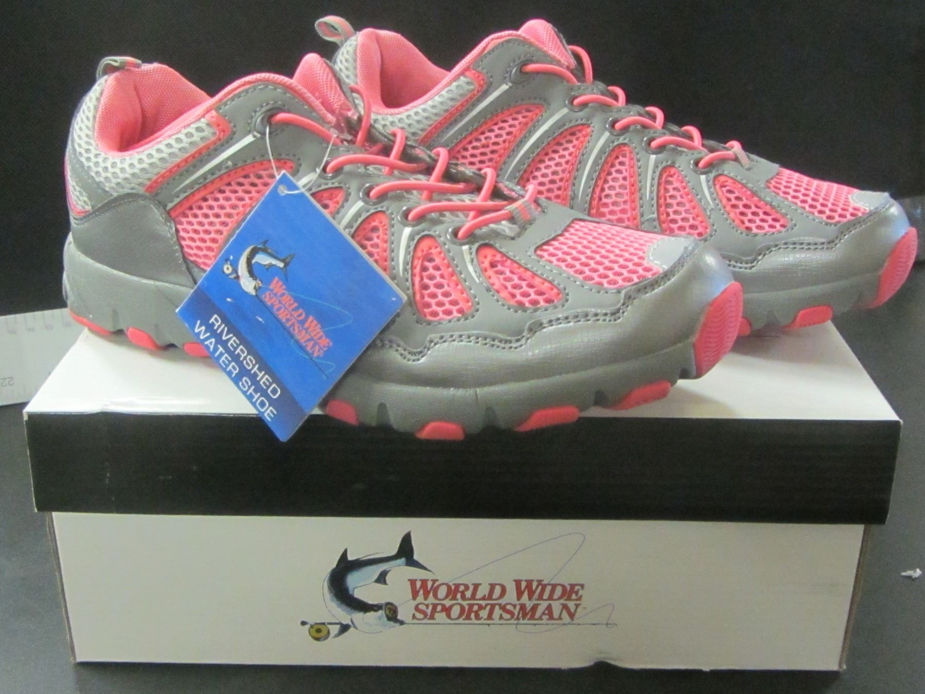 5fc4709a7c Image 1   New Women s River Shead Water Shoe   Size 9 pink grey