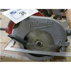 "MILWAUKEE 7 1/4"" ELECTRIC SKILL SAW"