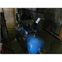 OMEGA MODEL TK7580-02M 7.5HP HORIZONTAL TANK MOUNTED AIR COMPRESSOR