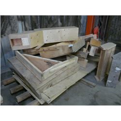 PALLET OF WOOD STOCK