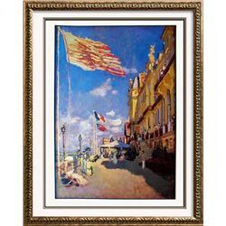 Claude Monet Impressionism Hotel Des Roches Noires, Trouville 1987