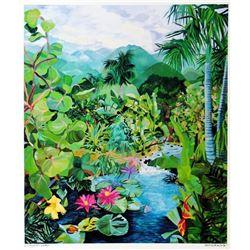 Hand Signed Tropical 1987 Eileen Seitz Jennifer Markes-Style