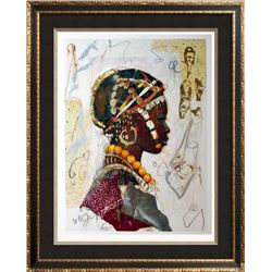 African Headdress Figures & Portraits 1996 Printed In Italy
