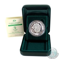 2000 Sydney Olympic 1oz .9999 Fine Silver Coin - Koala and Red Flowering Gum. Coin comes encapsulate