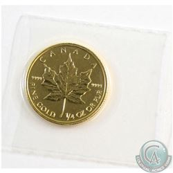 2013 Canada 1/4oz $10 .9999 Fine Gold Maple Leaf (TAX Exempt)