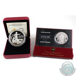 2006 Canada $30 National War Memorial Sterling Silver Coin & 2014 Canada $30 75th Anniversary of the