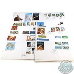 STAMPS; First Day Cover Year 1991 Estate Lot. 38 Pieces. Virtually all different.