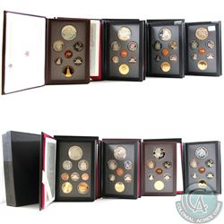 1990-1997 Canada Proof Double Dollar Set Collection. You will receive one of each date released betw
