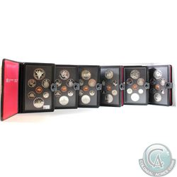 1980-1985 Canada Proof Double Dollar Set Collection. You will receive one of each date release betwe