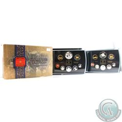 2001 & 2002 Canada Proof Double Dollar sets. Please note coins are toned. 2pcs.