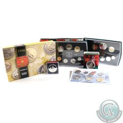 1998 Canada RCM Estate Lot. You will receive the following: 1998W Proof Like Set, 1998 Proof Dollar,