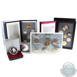 1993 Canada RCM Estate Lot. You will receive the following: 1993 Proof Dollar, 1993 Brilliant Uncirc