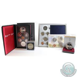 1984 Canada RCM Estate Lot. You will receive the following: 1984 Proof Dollar, 1984 Brilliant Uncirc