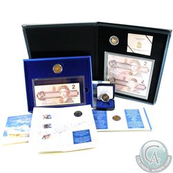 1996 Canada RCM Estate Lot. You will receive the following: 1996 Proof $2, 1996 Uncirculated $2, 199