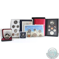 1987 Canada RCM Estate Lot. You will receive the following: 1987 Proof Dollar, 1987 Brilliant Uncirc