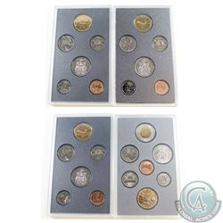 1988-1997 Canada Specimen sets. You will receive the following: 1988, 1992, 1993, and 1997. Coins co