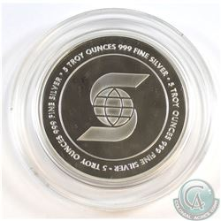 Scotiabank 5 oz. .999 Fine Silver Round (Tax Exempt)