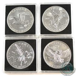 2014-2015 Canada $5 Birds of Prey 1oz Fine Silver Coins (Tax Exempt). You will receive the 2014 Pere