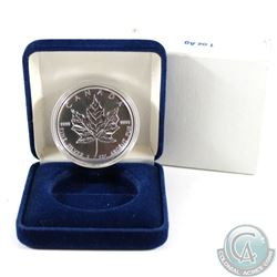 1994 Canada $5 Fine Silver Maple encapsulated in original blue clamshell case (Tax Exempt)