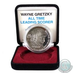 Limited Edition Wayne Gretzky 1oz Fine Silver Medallion (Tax Exempt)