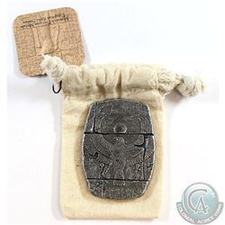 Monarch 3 oz. .999 Silver Egyptian Horus Relic Fine Silver Bar (Tax Exempt)
