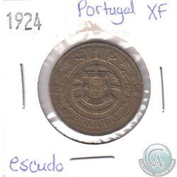 1924 Portugal Escudo EF