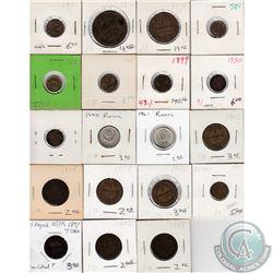 Estate Lot of Russia Coinage 1874-1977. 37pcs