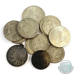 Lot of Austria Silver Coins - Weight 93.84g. 13pcs