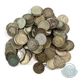 Lot of Great Britain 3 Pence Silver Coins - Weight 199.4g