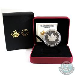 2017 $10 Canada 150 Iconic Maple Leaf 2oz. Fine Silver Coin (Tax Exempt)