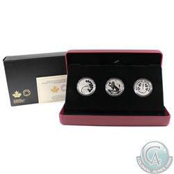 2017 Canada RCM Coin Lore - Forgotten 1927 Design 3-coin Fine Silver Set (Tax Exempt). Please note t
