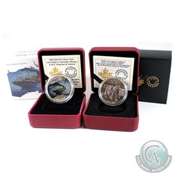 2014 Canada Brilliant Uncirculated Dollar & 2014 Canada $20 R.M.S Empress of Ireland Fine Silver Coi