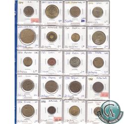 Estate Lot of 1937-2009 Miscellaneous World Coin Collection. 20pcs