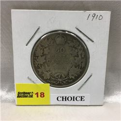 CHOICE OF 4 - Canada Fifty Cent