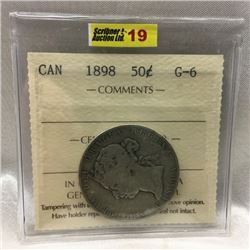 Canada Fifty Cent 1898