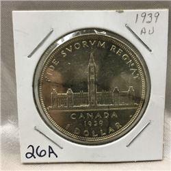 Canada Silver Dollar 1939 (CHOICE of 2)