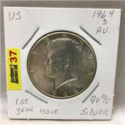 US Half Dollar 1964
