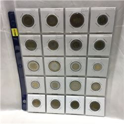 Foreign Coins - Variety