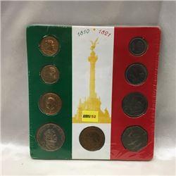 Mexico - Revolution 9 Coin Set
